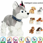 Interactive Robot Dog Electronic Toy Control Walk Sound Bark Stand For Kids Gift