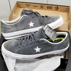Converse One Star Ox Suede Thunder Grey White