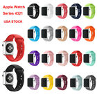 Replacement Silicone Sport Band Strap for A pple Watch Series 4 3 2 1 40mm/44mm
