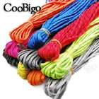 100FT Reflective Parachute Rope Lanyard 7 Strand Core Rope Paracord Braeclet for sale  China