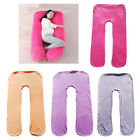 Pregnancy Pillow Full Body U Shaped Maternity Pillow,Support Back Neck Head