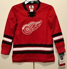 New Detroit Red Wings Kids Hockey Jersey Prem Quality NHL Shirt Boys Toddler 5/6 $19.99 USD on eBay