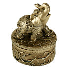 Evelots Elephant Jewelry Box Organizer, Keepsafe Trinket Box