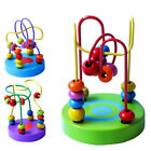 Colourful Wooden Mini Bead Maze Roller Coaster Educational Toy Baby & Toddler J