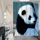 Bathroom Animal Panda Print Series Shower Curtain Non Fade