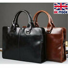 Pelle uomo UK Business Messenger Borsa a tracolla ventiquattrore Satchel borsa d