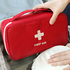 Red Empty First Aid Bag Emergency Medical Survival Treatment Rescue Box