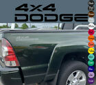 "2x DODGE RAM 4x4 OFF ROAD 1500 2500 Dakota Truck rear bed Decal Set 10x3"" each"
