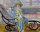 The Cigarette by French Henri Lebasque. People Repro choose Canvas or Paper