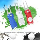 Stainless Steel Golf Divot Repair Tool Switchblade Foldable Pitchfork Aids Sale