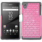 For Sony Ericsson Xperia Z5 FullStar Rugged Crystal Jeweled Protector Case Cover
