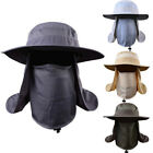 Outdoor UV Protection Ear Flap Neck Cover Sun Hat Cap Fishing Hunting Hiking USA