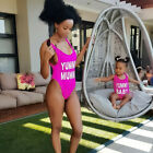 Внешний вид - Mother Daughter Matching Swimwear One Piece Swimsuit Mommy and Me Family Clothes