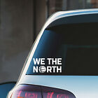 Toronto Raptors We the North Black/White Vinyl Decal on eBay