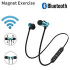 HOT Bluetooth Headphone Stereo Earphone Headset Wireless Magnetic In-Ear Earbuds