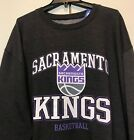 New Sacramento Kings Men's Size 3XL Winter Sweatshirt Dark Grey Crewneck Shirt on eBay