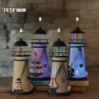Colorful Led Metal Lighthouse Nautical Light Lamp Beach Desk Ornament Home Decor