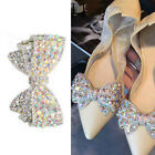 2PCS Shoe Charms High Heels Bridal Shoes DIY Bow Shoes Accessories Decorations