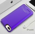 Luxury Portable Charger Case Battery Rechargeable Backup Cover for iPhone 7 8