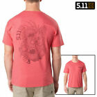 5.11 Tactical Dragon T-Shirt  Red Heather  NEW