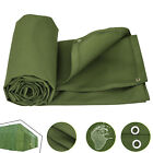 Multi-size Canvas Tarp Green Cotton Tarpaulin Supplies Lumber Construction