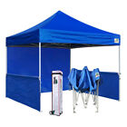 EZ Pop Up 10X10 Canopy Professional Fair Tent Instant Shade Trade Show Booth