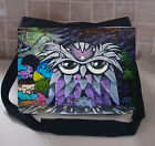 OWL LARGE MESSEGER SCHOOL/COLLEGE BAG PERSONALISE FREE