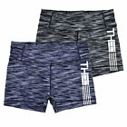 Tommy Hilfiger Womens Compression Shorts Mid Rise Active Stretch Sport Gym New