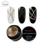 T-TIAO CLUB Metal Wire Spider Gel Nail Line Silk Point Pulling Painting Varnish