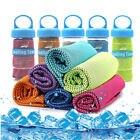Outdoor Ice Cold Instant Cooling Towel Running Jogging Gym Chilly Pad Sport Yoga image