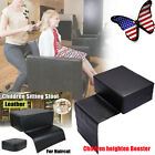 Hair Styling Barber Chair Children Booster Seat Cushion Stool Salon Equipment US