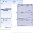 Pre Printed Business or personal size computer Checks Quickbooks Compatible