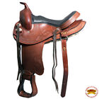 Hilason Gaited Western Trail Pleasure Endurance Horse Saddle Brown U-HSTT
