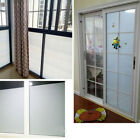 BY Bedroom Bathroom Home Glass Window Door Privacy Film PVC Frosted Sticker HOT