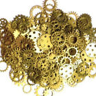 100g Steampunk Set Cyberpunk Jewellery Cogs and Gears Watch Parts Craft Arts US