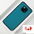 For HUAWEI Mate20 Pro Cover Case Luxury Fabric Canvas Shockproof Soft TPU Shell