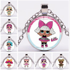 Lol Surprise Dolls Game Costume Jewelry Charm Necklace Pendant Chain School Gift