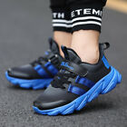 Kids Sneakers Running Tennis Shoes Lightweight Casual Walking for Boys and Girls