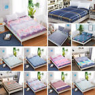 Bed Sheet Floral Printed Cotton Twin Full Queen King Bedding Fitted Sheet Cover  image