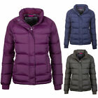Women's Jacket Quilted Puffer Ladies Short All Seasons Insulated Coat Rydale