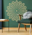 Mandala Large Wall STENCIL Paint Furniture Decor Canvas Yoga Reusable Craft DL32