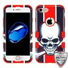 For iPhone 7 / 8 TUFF Hybrid Phone Shell Hard Impact Protector Case Cover