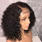 Brazilian Jerry Curl Wig Curly Lace Front Human Hair Wigs Lace Frontal Wig Short