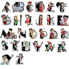 BETTY BOOP ALPHABET COLLECTION LETTERS A - Z BOXED B C D E F G H I J K L M N O P £17.99 GBP on eBay