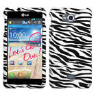 Design Snap on Cover Protector Case for LG Spirit 4G MS870