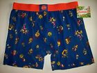 Character Rewind Underwear Mens Toss Boxer Brief S M L XL Nick 90's Cartoons NWT