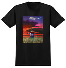 REAL Skateboards James Kelch Flyer 90's Reissue Black T-Shirt image