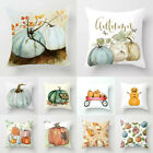 Pumpkin Halloween Pillows Cover Fall Decor Pillow Case Sofa Throw Cushion Cover image