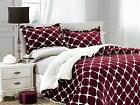 3-Pc Premium™ Heavy Bloomingdale Sherpa Reversible Down Alternative Comforter