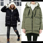 Womens Hoody Winter Down Coat Warm Puffer Padded Outdoor Parka Amazon Jacket UK